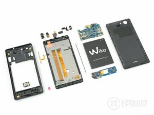 Wiko Pulp 4G Teardown