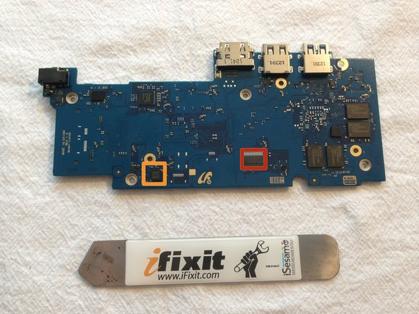 """The Embedded Controller, according to Google's documentation is STM32F100R8, although it is marked as """"32F100B6"""""""