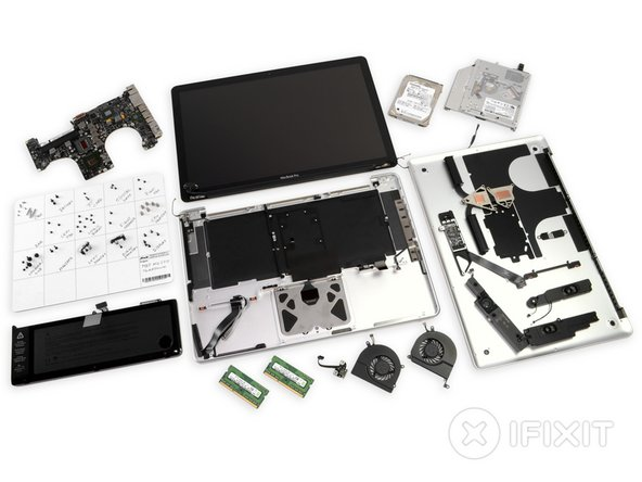 """MacBook Pro 15"""" Unibody Mid 2012 Repairability Score: 7 out of 10 (10 is easiest to repair)."""