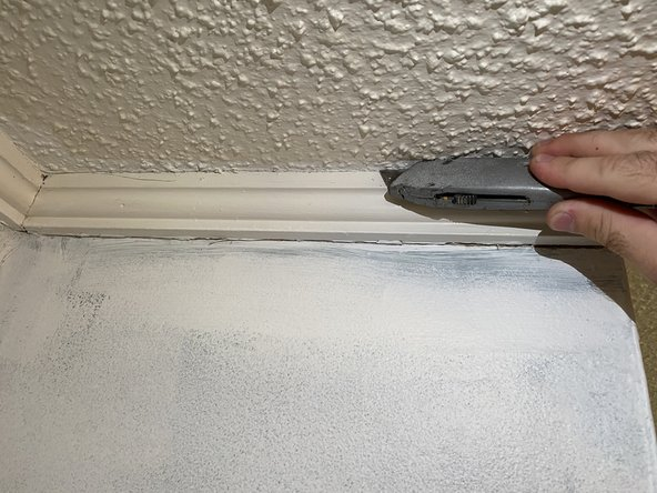 Crown Molding Trim Replacement