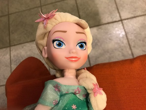 "Frozen ""Elsa"" Singing Doll Battery Replacement"