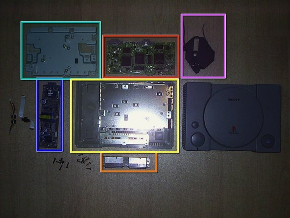 Now, you have all your PlayStation 1 parts!