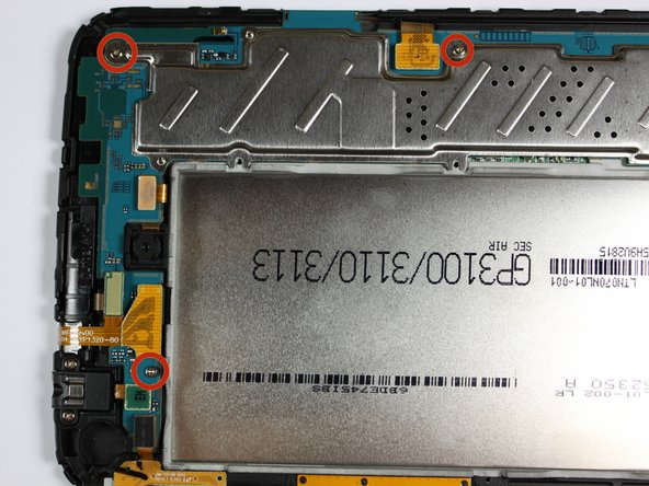 Once all connections have been released, begin removing the screws shown in the first two pictures.