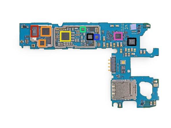 SWEP GRG28 antenna switch module (thanks Chipworks)
