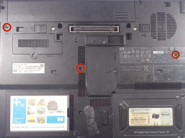 HP Compaq nc6400 Keyboard Replacement