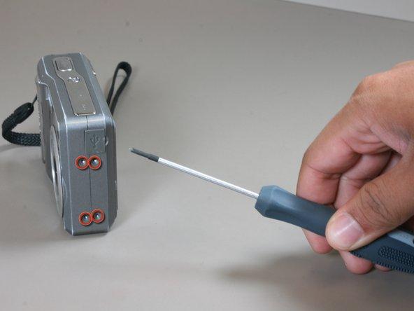 Remplacement du boitier externe du Polaroid i533