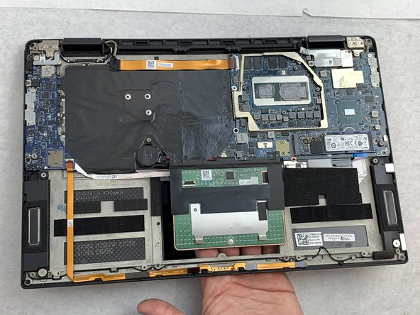 Dell XPS 15 9575 Trackpad Replacement