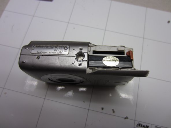 Canon PowerShot SD500 Digital ELPH Battery Replacement
