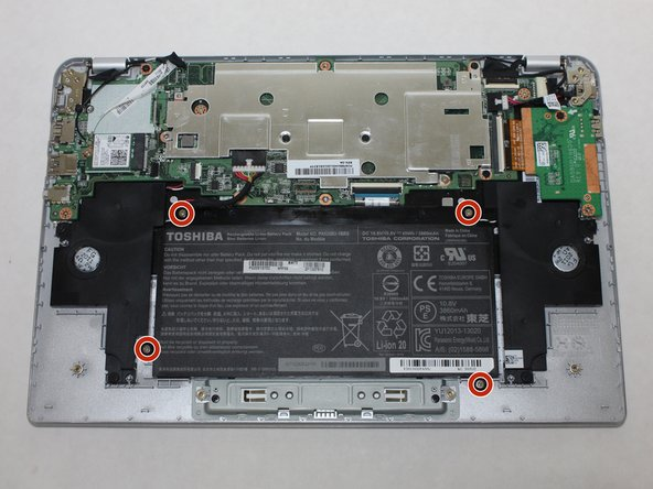 Reemplazo de la batería de Toshiba Chromebook 2