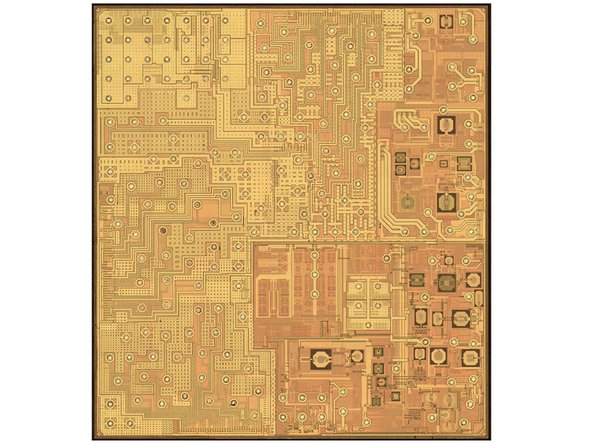 The Murata Wi-Fi SoC module actually comprises a Broadcom BCM4334 package in addition to an oscillator, capacitors, resistors, etc. You can see all the components in the X-ray (third image).