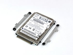 """iBook G4 14"""" 1.42 GHz Hard Drive Replacement"""