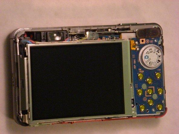 Sony Cyber-shot DSC-W150 LCD Screen Replacement