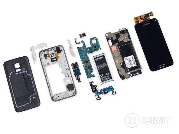 Vue éclatée du Samsung Galaxy S5 Mini - iFixit