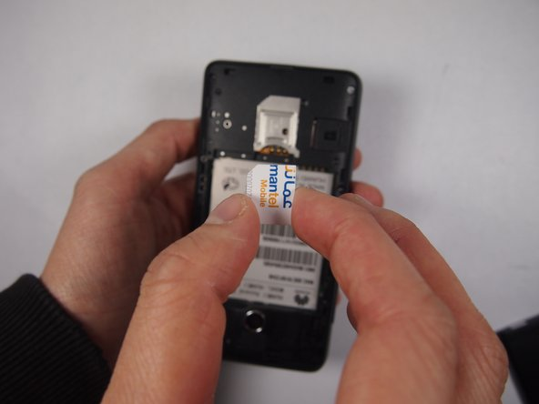 Huawei Y300 SIM Card Replacement