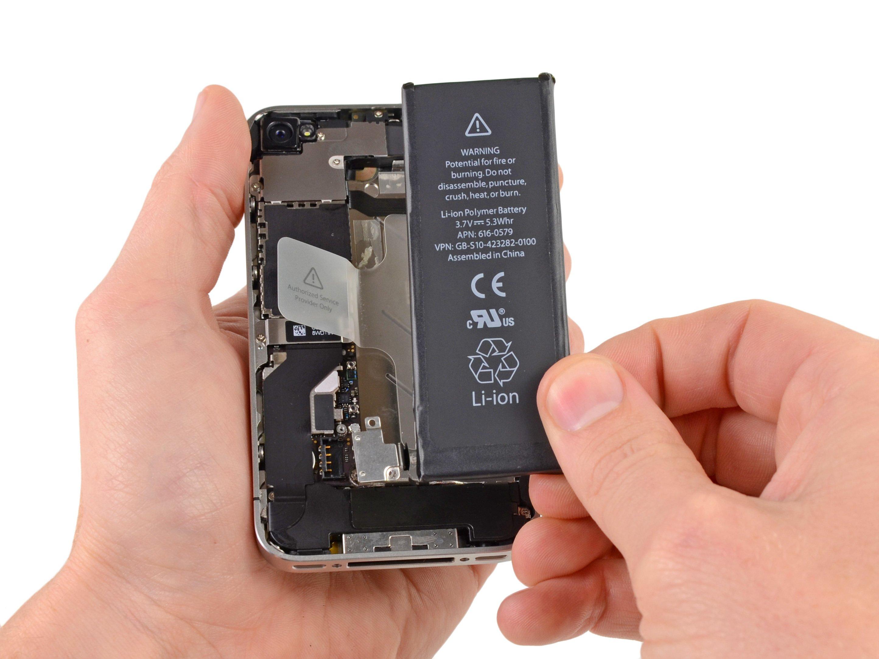 Remplacement de la batterie de l'iPhone 40S