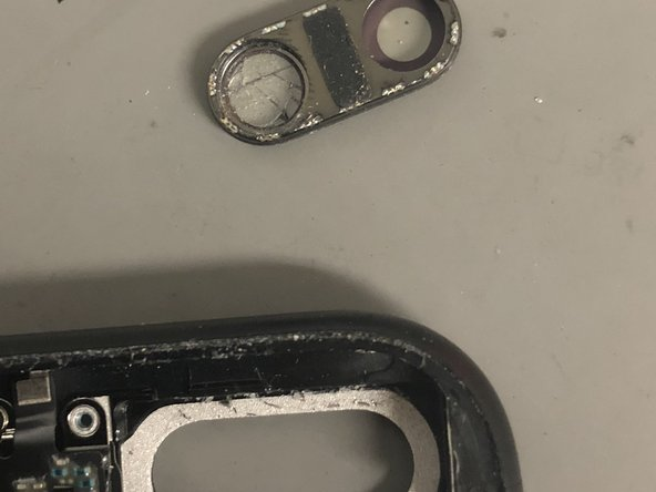 iPhone7Plusのリアカメラのレンズガラスの交換