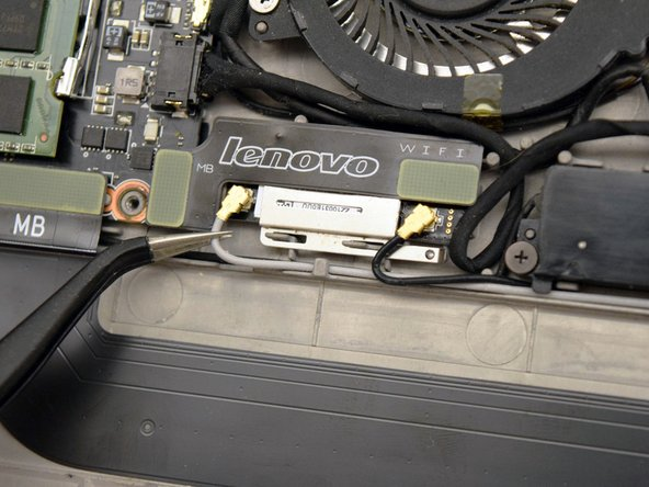 Lenovo IdeaPad Yoga 13 WiFi Module Replacement