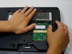 IBM ThinkPad A30 RAM Replacement