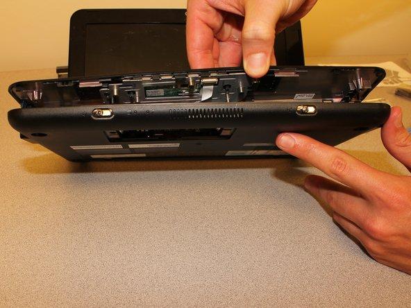 HP Mini 110-1046NR Keyboard Bezel Replacement