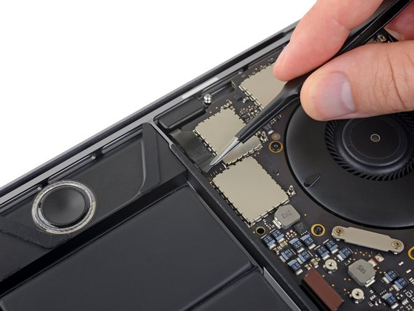 Peel back any tape covering the connector for the left-side tweeter.