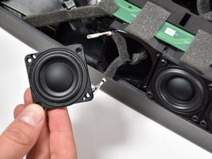 Speaker from the Main Array