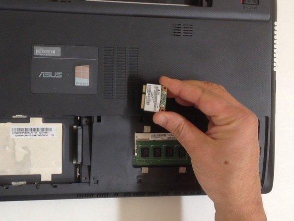 Asus X55C Wi-Fi Half mini PCIe lan card Replacement