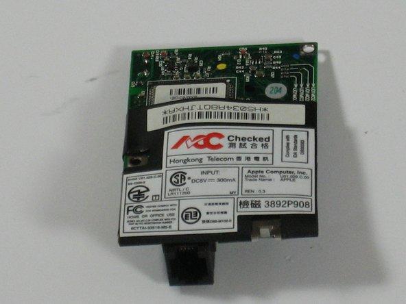 Power Mac G4 Cube Modem Replacement
