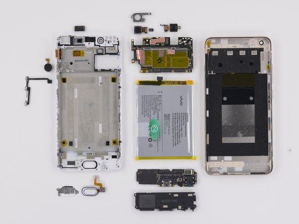 Vivo X7 Plus Repairability Assessment