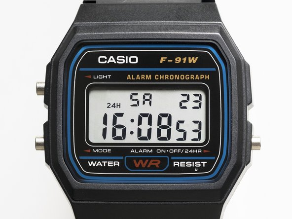 This is a teardown of a Casio Digital Watch down to the internal circuitry.