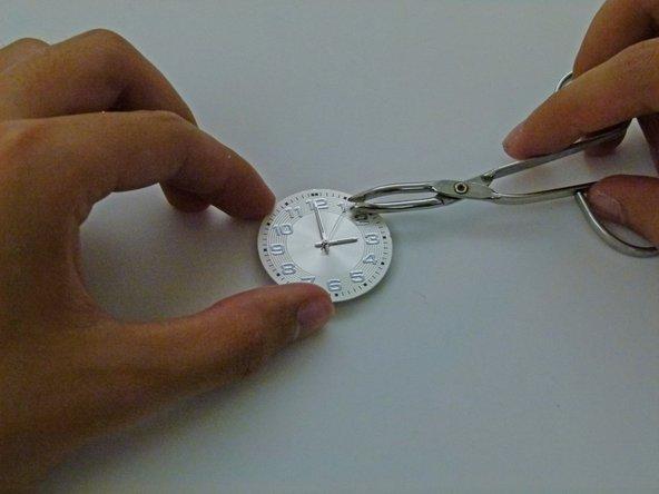 How to reset watch hands