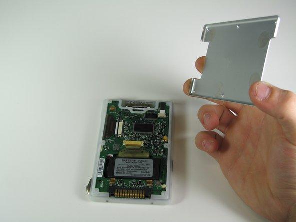 Handspring Visor Edge Back Panel Replacement