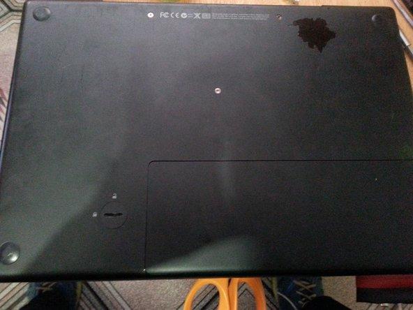 Remove MacBook A1181 HD