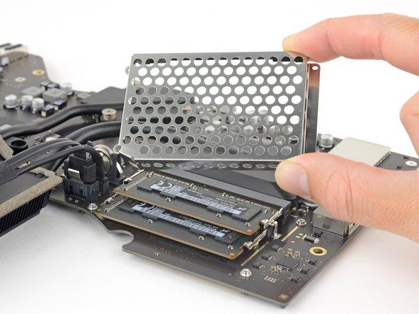 Remove the RAM shield.