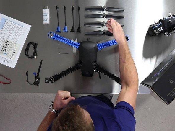 How to Assemble the 3DRobotics Iris+