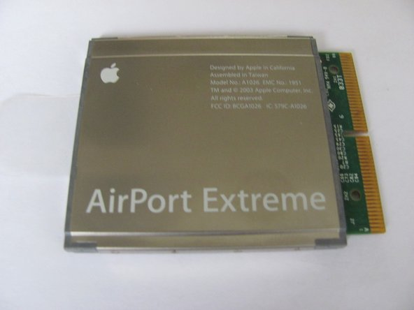 Apple AirPort Extreme Model A1034 Internet Card Replacement