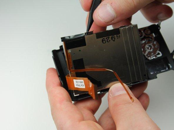 Panasonic Lumix DMC-FX07 LCD Display Replacement