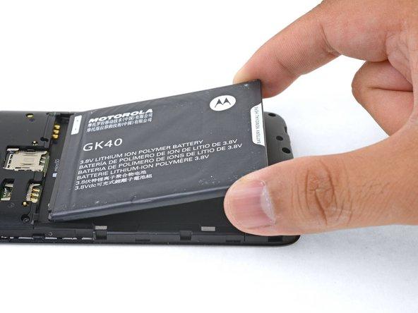 Motorola Moto G5 Battery Replacement