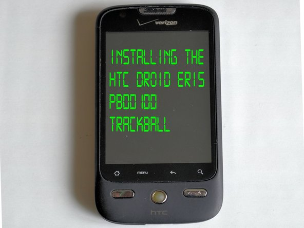HTC Droid Eris Trackball Replacement