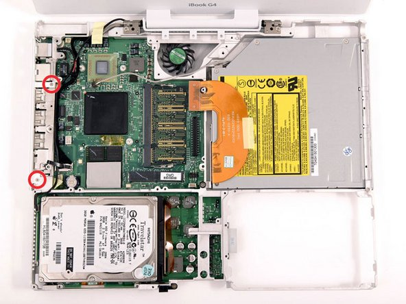 "iBook G4 12"" 800 MHz-1.2 GHz Logic Board Replacement"