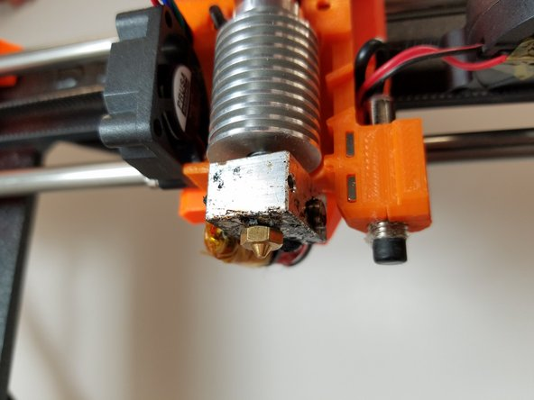 Prusa i3 Mk2  Nozzle Replacement
