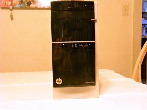 HP-Pavillion 500-424 PC Series CPU Fan Replacement