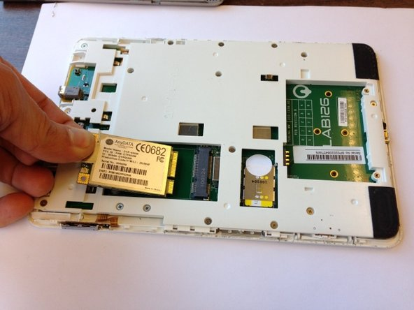 Kindle 2 ワイヤレスカードの交換