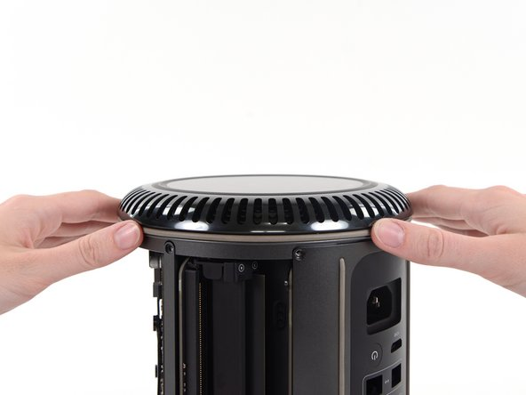 Carefully lift the lower case up and remove it from the Mac Pro.