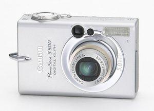Canon PowerShot S500 Repair