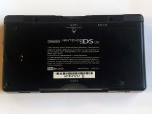 Nintendo DS Lite Shoulder Buttons Technique