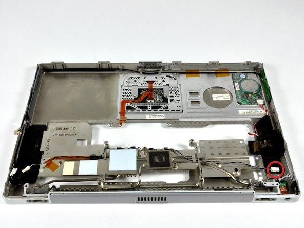 PowerBook G4 Titanium DVI Upper Case Replacement