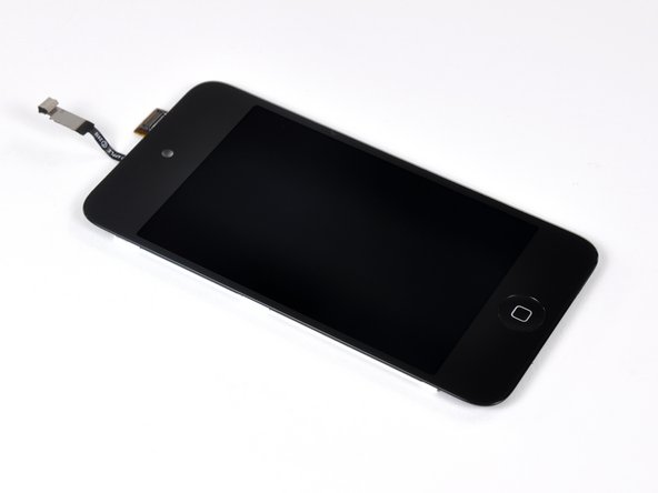 The display assembly of the Touch measures 2.93 mm thick. That is slightly thinner than the 3.05 mm iPhone 4 display, and 30% thicker than the 2.27 mm display on the new iPod Nano.