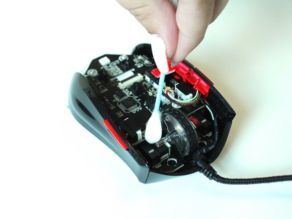 Thermaltake Theron Plus Button Cleaning