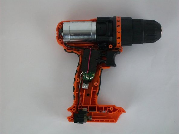 Black and Decker LDX 120C Safety switch and trigger chip  Replacement