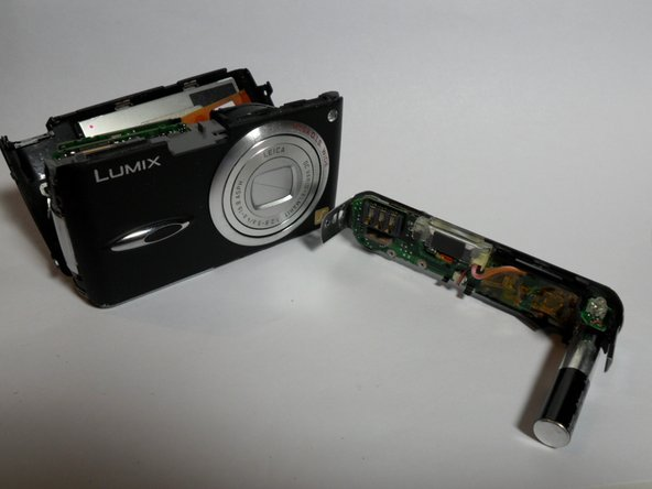 Panasonic Lumix DMC-FX01 Flash Top Assembly Replacement